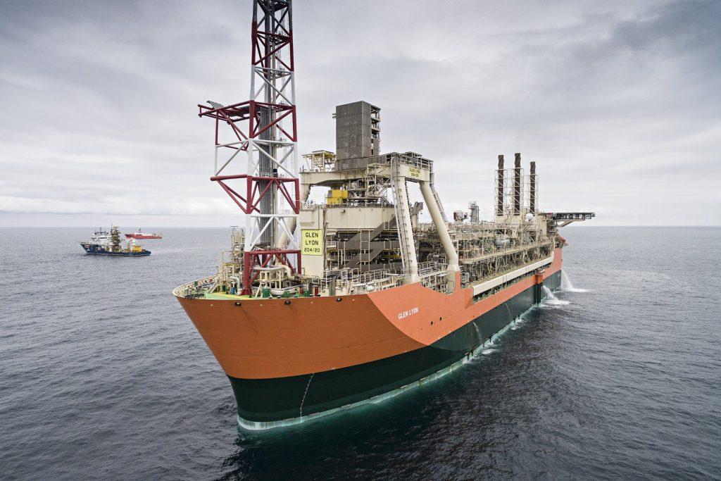 Superior Hyundai North >> Glen Lyon – FPSO – Telic Engineering Ltd